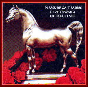 Pleasure Gait Farms Silver Award of Excellence